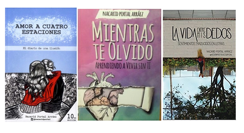 Trilogia  Amor a Cuatros Estaciones x 3 Libros Nacarid Portal