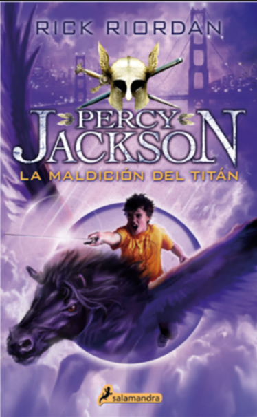 Percy Jackson La Maldicion del Titan Libro Rick Riordan