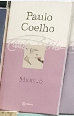 Maktub Libro Paulo Coelho