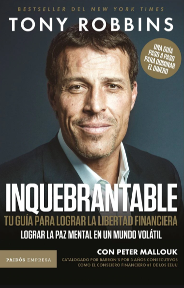 Inquebrantable  Libro Tony Robbins