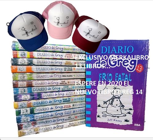 Colección Diarios de Greg x 13 (INCLUYE GREG 13)..Espere Greg 14 en Colombia