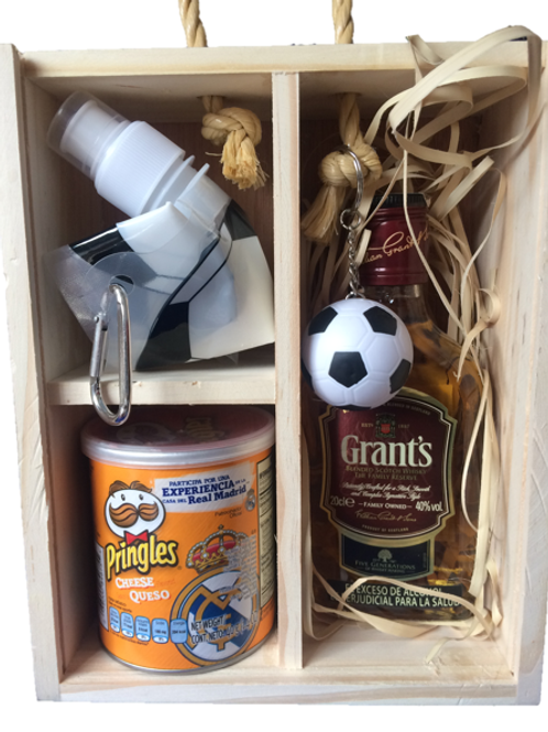 Caja Mini Dia Del Padre (Whisky Grants 1/4)