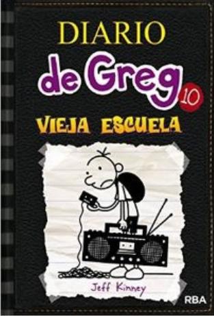 Diario de Greg libro 10 libro: Jeff Kinney