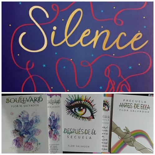 Silence + Trilogía Boulevard Autor:  Flor Salvador