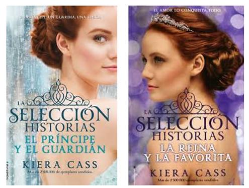 Colección La Selección Historia Kiera Cass x 2 libros