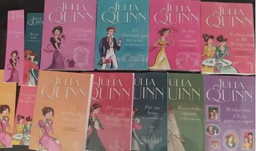 Colección Julia Quinn X 9 Libros Saga Bridgerton