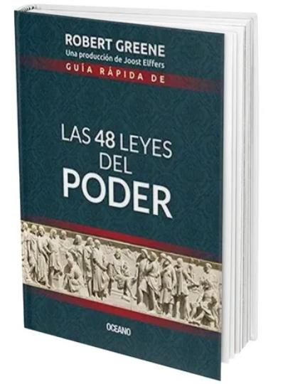 Las 48 leyes del poder Libro Robert Greenee Edición Completa versión bolsillo