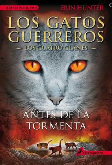 Gatos Guerreros Antes de la Tormenta Los cuatro clanes