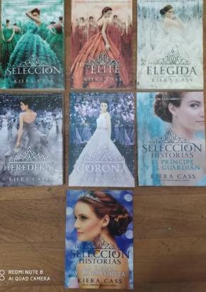 Colección  La Selección x 7 libros + Saga Kiera Cass