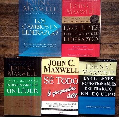 Colección John Maxwell los 5 libros betseller