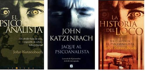 Colección John Katzenbach x 3 libros Betseller