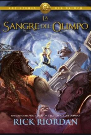 Sangre Del Olimpo Saga Percy Jackson Libro Rick Riordan