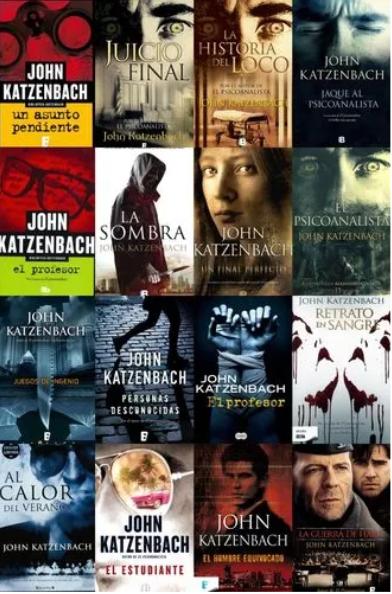 Colección John Katzenbach x 6 libros Betseller