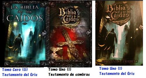 Trilogia Biblia del los Caidos x 3 Libros De Fernando Trujillo