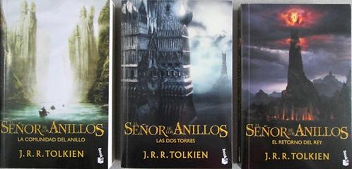 Trilogía El Señor De Los Anillos  x 3 libros