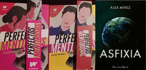 Colección Alex Mirez  Perfectos Mentirosos l 1 y 2 + Asfixia