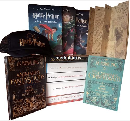 Colección Harry Potter x 10 Saga J.K. Rowling