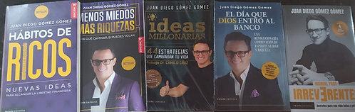 Coleccion Original Juan Diego Gómez x 5 Libros