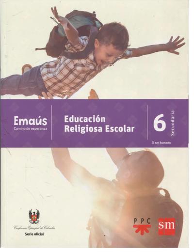 EMAÚS 6. Emaus CAMINO DE ESPERANZA - EDUCACIÓN RELIGIOSA ESCOLAR (copia)