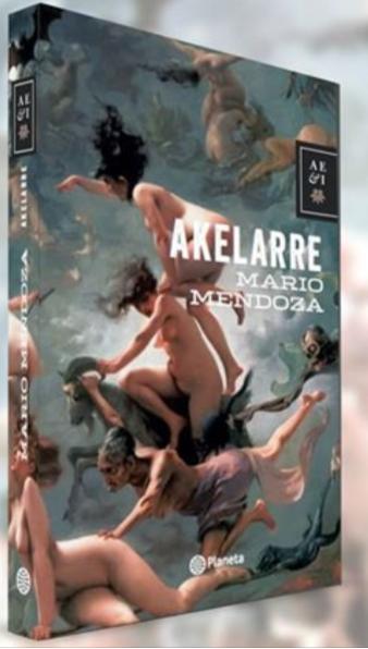 Libro Akelarre Libro Mario Mendoza