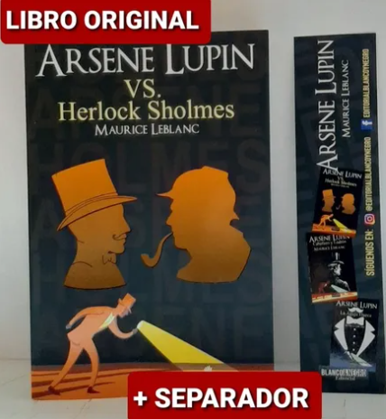 Arsene Lupin Vs Herlock Sholmes libro 3  Maurice Leblanc