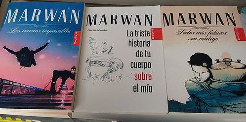 Colección Marwan: Los Amores Imparable +Todos Mis Futuros Son Contigo + La Trist