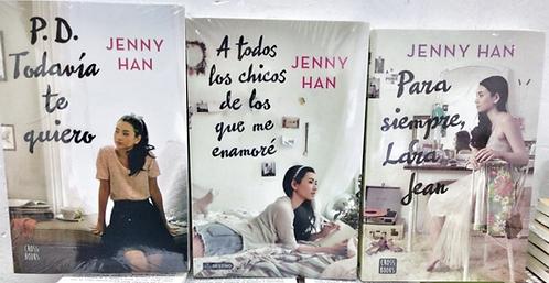 Trilogia A Todos Los Chicos De Los Que Me Enamoré Libro Jenny Han