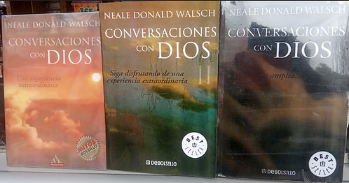 Conversaciones Con Dios Volumen 1-2-3  Neale Donald Walsch