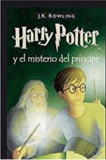 Harry Potter libro 6 El Misterio Del Principe libro: J.K. Rowling