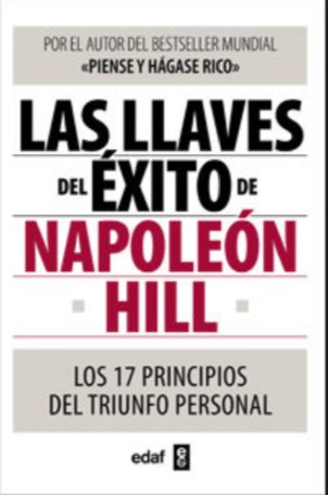 Las Llaves del exito libro Napoleon Hill