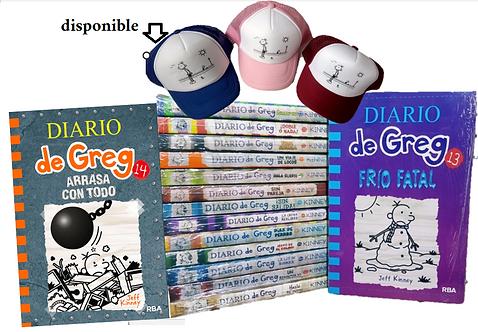 Colección Diarios de Greg x 14 (INCLUYE GREG 14)