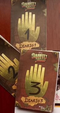 Gravity Falls Diario 1,2,3  Color Autor: Alex HirschLibroa