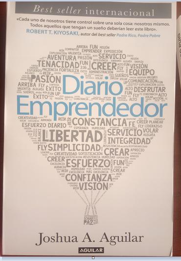Diario Emprendedor Libro Joshua Aguilar