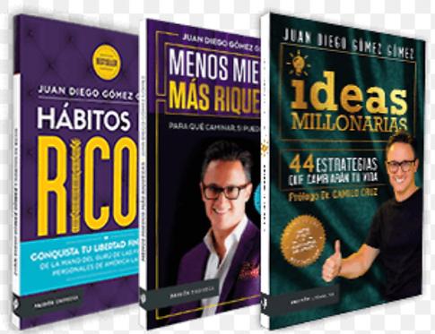 Coleccion Juan Diego Gomez x 3 libros