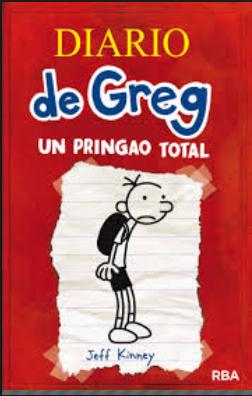 Diario de Greg libro 1 Autor: Jeff Kinney