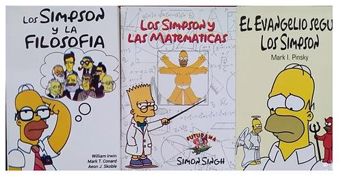 Coleccion De Libros De Los Simpson : Filosofia, matematicas y Evangeleo