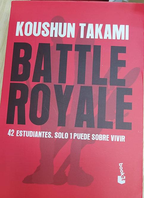 Battle Royale Autor: Koushun Takami