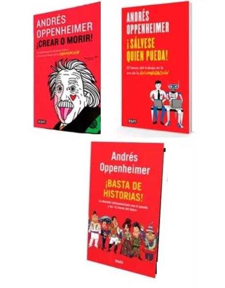 Colección Andrés Oppenheimer x 3 libros