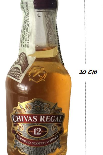 Whisky Chivas Regal 12 años De Colección 50 ml Ref 19092