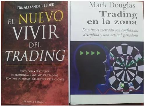 Trading En La Zona  + El Nuevo Vivir Del Trading  Autor Douglas -Alexander Elder