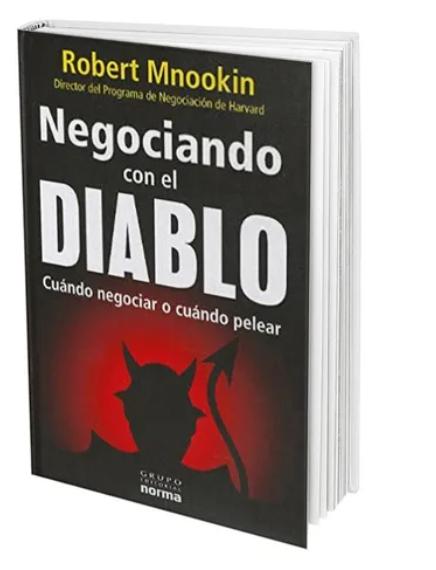 Negociando Con El Diablo  Libro  Robert Harris