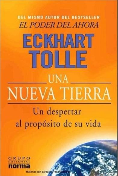 Una Nueva Tierra libro Eckhart Tolle