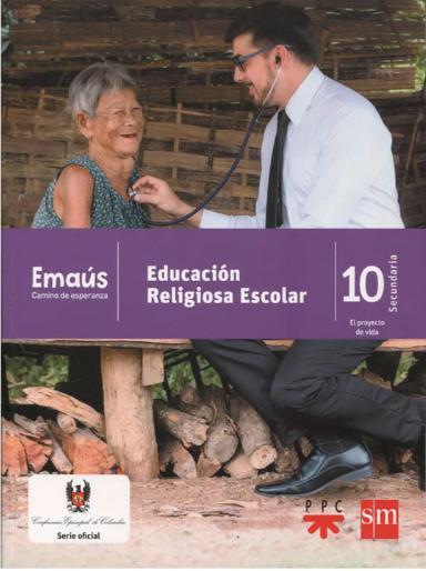 EMAÚS 10. Emaus CAMINO DE ESPERANZA - EDUCACIÓN RELIGIOSA ESCOLAR/copia