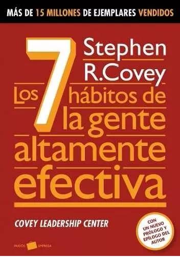 Los 7 habitos de la Gente Altamente Efectiva Libro Stephen Covey
