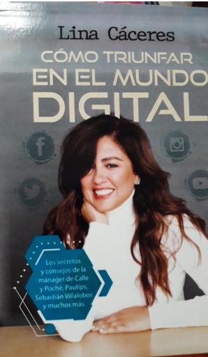 Como Triunfar En El Mundo Digital LIbro Lina Caceres