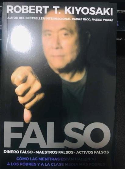 Falso Libro Robert Kiyosaki en que invierten los ricos