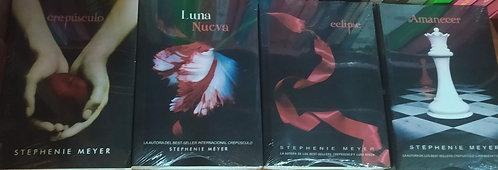 Coleccion Crepusculo x 4 libros +  Autor: Sthepanie Meyer +Separador