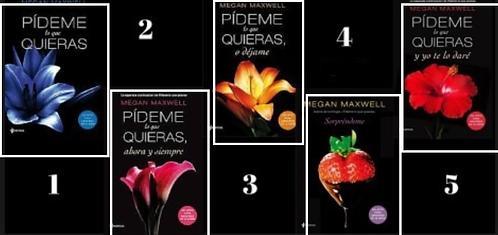 Colección Pídeme lo Que Quieras x 5 Saga Megan Maxwell
