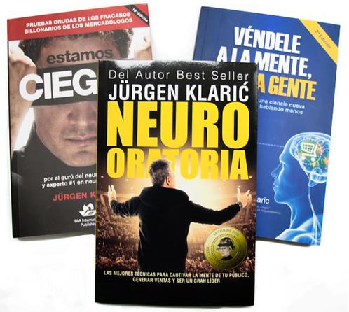 Colección Jürgen Klaric x 3 libros