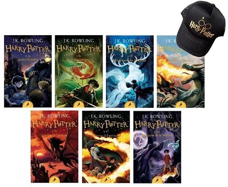 Colección Harry Potter x 7 libros Originales J.K. Rowling gratis cachucha harry